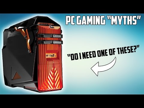 The Many Myths of PC Gaming