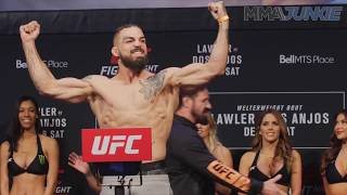 UFC on FOX 26 ceremonial weigh in highlight -  Mike Perry vs  Santiago Ponzinibbio