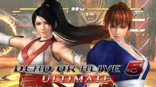Dead or Alive 5 Ultimate - Kasumi vs. Momiji (Online Xbox Live Match)