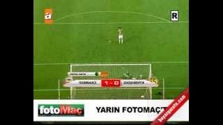 Fenerbahçe 1-1 Eskişehirspor Penaltılar(4-1)   Ziraat Türkiye Kupası Fenerbahçe Finalde
