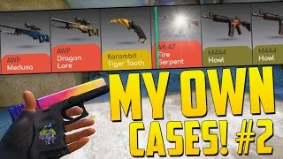 OPENING MY OWN CASE!! - CS GO Case Opening on Drakemoon