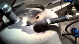 Homemade sandblaster and how to build