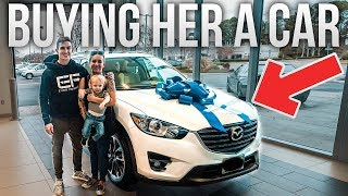 BUYING MY SISTER A NEW CAR!!!