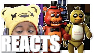 FNAF CRAZY RANDOM | [SFM] FNAF - Crazy Random Stuffz Reaction | AyChristene Reacts