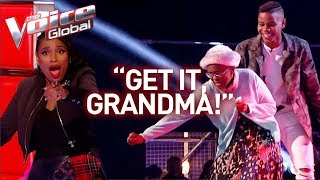 16-Year-Old and grandmother steal the show in The Voice!   Journey #28