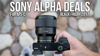 Sony a6000 NEWEST LOW PRICE! - Black Friday Deals 2017 for Sony Alpha APS-C