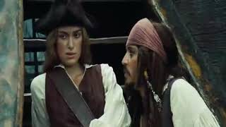 Jhony Deep Flirt Scene In Hindi Dubbed Pirates_Of_The_Caribbean_Dead_Mans_Chest_Movie