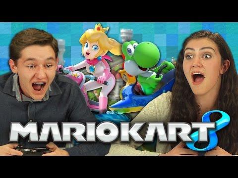 MARIO KART 8 Teens React Gaming