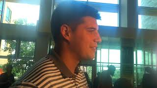 Mason Rudolph reflects on Steelers roomie class trip to UPMC Children's Hospital