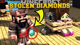 Minecraft: HE STOLE OUR DIAMONDS!!! - CAPTAIN SEAGULL