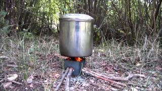 Nano Stove with 2 Person Cook Set