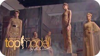 Varisa und Ajsa shooten für Amato | Germany's next Topmodel 2015 | ProSieben