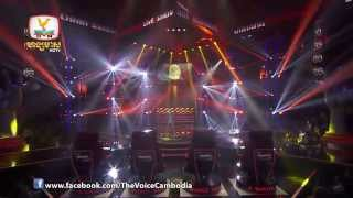 The Voice Cambodia - Live Show 1 - ស្រក់ទឹកភ្នែកមិនមានគ្មានបញ្ហា - ឈីន សំណាង