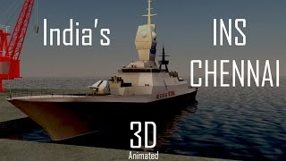 Amazing facts about Largest Destroyer INS Chennai Made in India