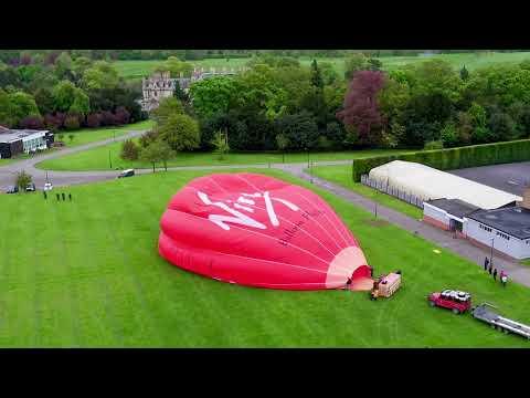 Xxx Mp4 Virgin Hot Air Balloon Preparation At Stoke Rochford Hall 3gp Sex