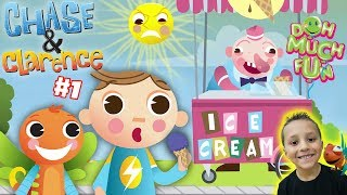 Chase & Clarence: ICE CREAM MAN | DOH MUCH FUN Animated Shorts #1