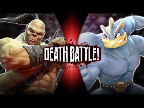 Goro VS Machamp Mortal Kombat VS Pokémon DEATH BATTLE