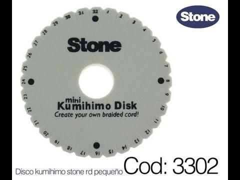 COD.3302 Manejo de la Técnica KUMIHIMO Pulsera cordon seda