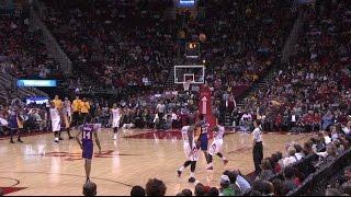 Lou Williams Three-Quarter Court Shot Beats the Buzzer   12.07.16