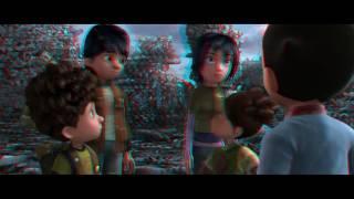 [Trailer] Astro Boy True 3D in Anaglyph 3D (Red-Cyan)