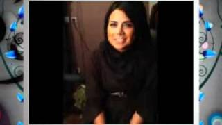 Pretty Persian girl singing funny song