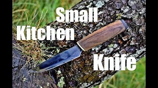 Knife making - Small Kitchen Knife for my Mother