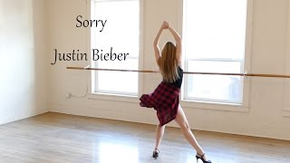 Justin Bieber's SORRY – Dance Tutorial (to live performance on Jimmy Fallon)