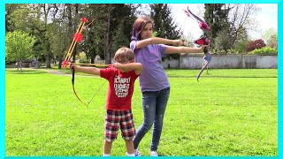 Legends Tacoma Play Toy Bow and Arrows Review and Family Park Action