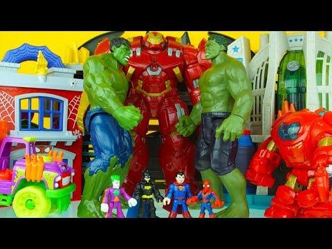 Xxx Mp4 MEGA HULK FAMILY BATTLE Iron Man Spiderman Batman Superman Superhero Toys 1 3gp Sex