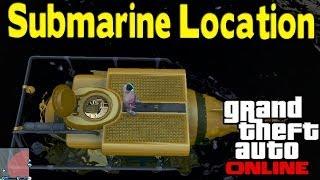 GTA Online - SECRET SUBMARINE LOCATION (How To Find) [GTA V Multiplayer]