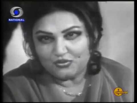 Dilip Kumar in conversation with Mallika E Tarannum Noorjehan DD Studios in 1983