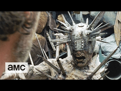 The Walking Dead The Spike Covered Walker Talked About Scene Ep. 710