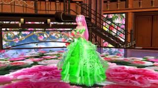 MMD Tda Luka ~   エメラルド~ Rose Garden