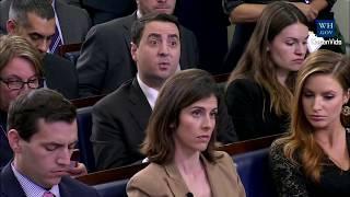 Sarah 'Huckabee' Sanders gets ANGRY on Trump Warren Pocahontas question