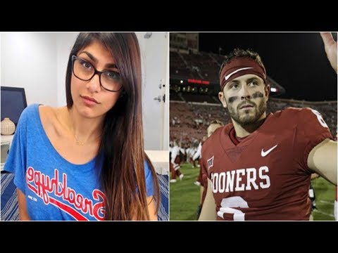 Xxx Mp4 Porn Star Mia Khalifa Gets REJECTED By Oklahoma QB Baker Mayfield After Creeping On Twitter 3gp Sex
