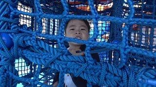レゴランド名古屋 ザ・ワーフ船の公園で遊んだよ♫ お出かけ こうくんねみちゃん LEGOLAND JAPAN