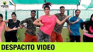 Luis Fonsi DESPACITO Major Lazer Remix | Zumba Workout on DESPACITO Song | Vijaya Tupurani