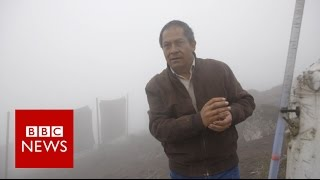 The fog catcher who brings water to the poor - BBC News