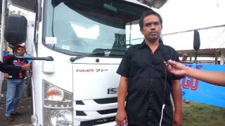 Testimoni Isuzu ELF NMR 71 HD 5.8 Bak Kayu - Pak Saiful