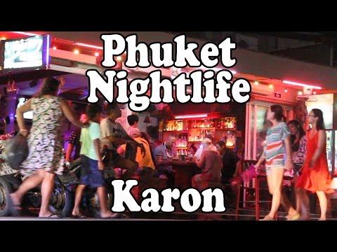 Phuket Nightlife Karon Beach 2016: Bars,