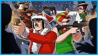 SCAAAAARY CHRISTMAS!! - Call of Duty Zombies Funny Moments! (BO3 Custom Zombies)