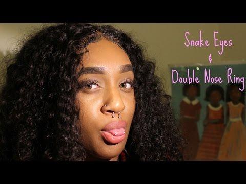Xxx Mp4 Snake Eye Double Nose Piercing Vlog L Watch In HD 3gp Sex
