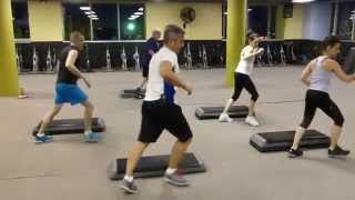 Orlando's Extremely Advanced Step Class