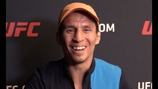 Joseph Benavidez FULL Media Scrum: Emotional Joe Recounts Journey Towards the Belt (UFC on ESPN 3)