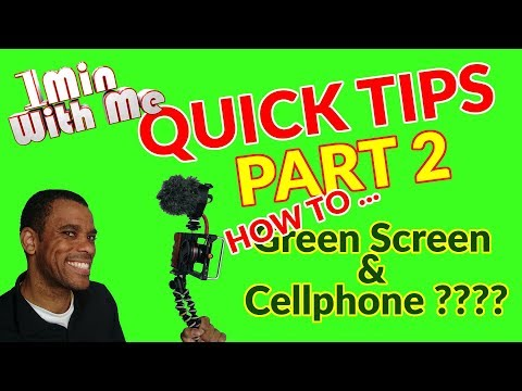 Xxx Mp4 How To Use Green Screen Chroma Key On A Cellphone With Kinemaster 3gp Sex