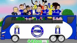 CHELSEA FC CHAMPIONS 2015 (Mourinho TROLLS the LEAGUE! cartoon premier league title 14-15)