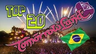 TOP 20 MEJORES CANCIONES DE TOMORROWLAND BRASIL 2016 (CON NOMBRES) | TOMORROWLAND BRASIL BEST SONGS