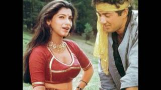 In Pictures  Dimple Kapadia & Sunny Deol's Hot On Screen Romance