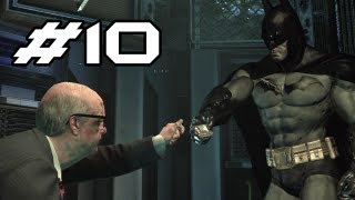 BATMAN Arkham Asylum Gameplay Walkthrough - Part 10 - H-A-C-K (Let's Play)