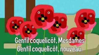 Comptine : Gentil coquelicot